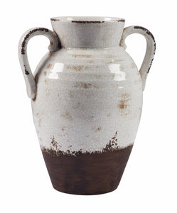 Dion Vase Distressed White