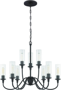 0-019147>Modina 9-Light Chandelier Espresso