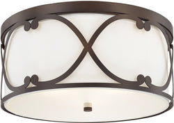 Capital Lighting Alexander 3-Light Ceiling Burnished Bronze 8073BB