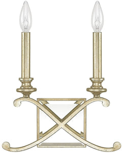 Capital Lighting Alexander 2-Light Sconce Winter Gold 8062WG