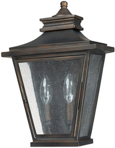 "14""h Astor 2-Light Outdoor Wall Mount Old Bronze"