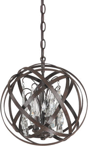 Capital Lighting Axis 3-Light Pendant Russet 4233RSCR