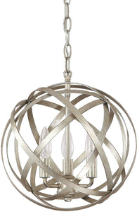 Capital Lighting Axis 3-Light Pendant Winter Gold 4233WG