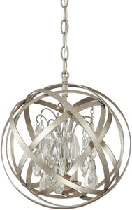 Capital Lighting Axis 3-Light Pendant Winter Gold 4233WGCR