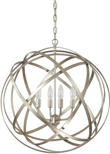 Capital Lighting Axis 4-Light Pendant Winter Gold 4234WG