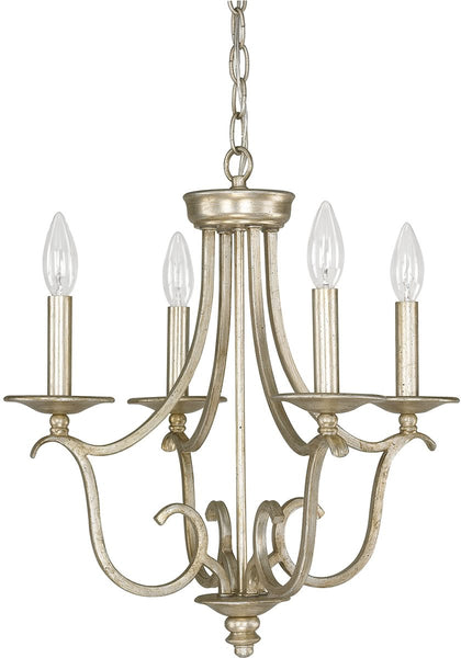 Bailey 4-Light Mini Chandelier Winter Gold