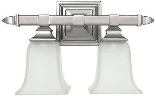 Capital Lighting 2-Light Vanity Matte Nickel 1062MN142