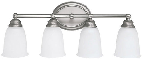 Capital Lighting 4-Light Vanity Matte Nickel 1084MN132