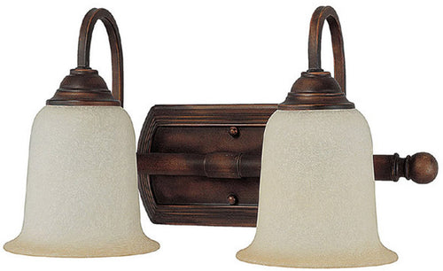 Capital Lighting 2-Light Vanity Burnished Bronze 1792BB293