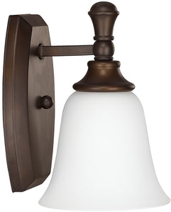 Capital Lighting Belmont 1-Light Sconce Burnished Bronze 1331BB242