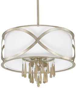 Capital Lighting Berkeley 4-Light Pendant Winter Gold 4964WG617