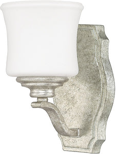 Capital Lighting Blair 1-Light Sconce Antique Silver 8551AS299