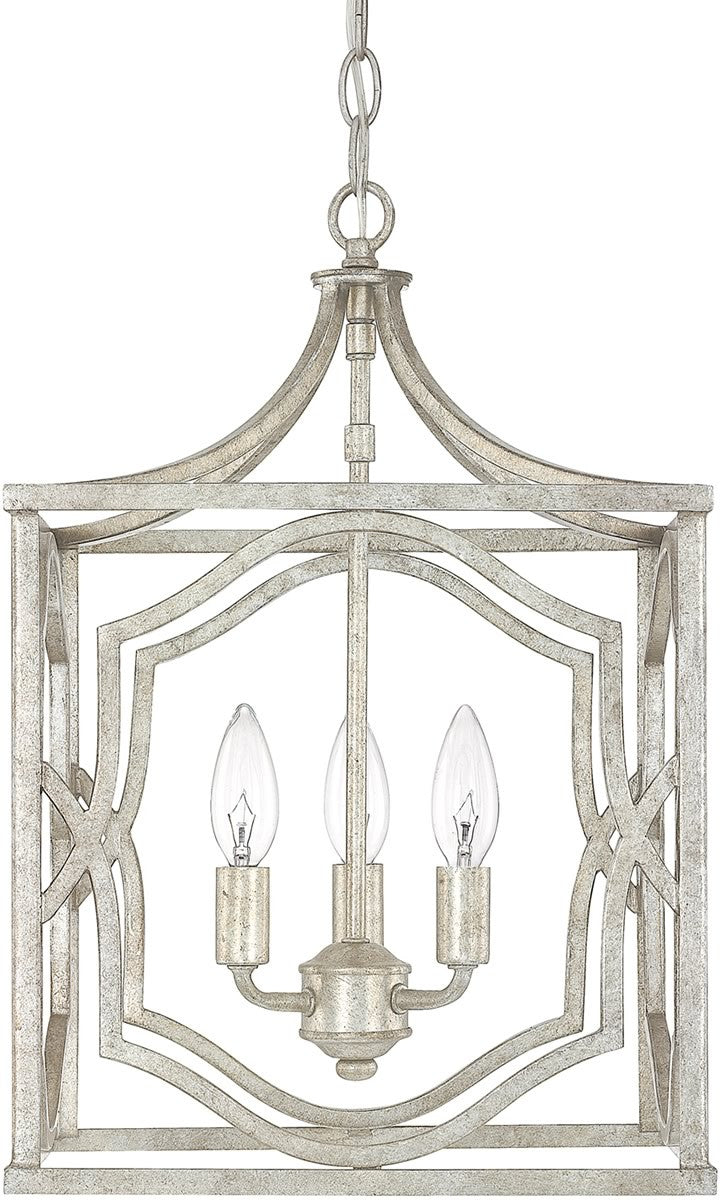 save on lighting. Save On Capital Lighting Blakely 3-Light Foyer Fixture Antique Silver 9481AS - LampsUSA
