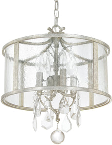 Capital Lighting Blakely 4-Light Pendant Antique Silver 9484ASCR