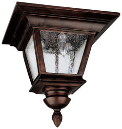 "12""w Brookwood 3-Light Outdoor Fixture Burnished Bronze"