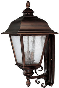 Capital Lighting Brookwood 3-Light Outdoor Fixture Burnished Bronze 9963BB
