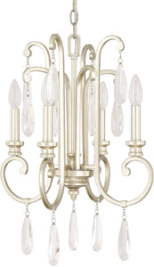 Capital Lighting Cambridge 4-Light Chandelier Winter Gold 313641WG