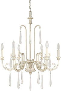 Cambridge 6-Light Chandelier Winter Gold