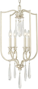 Capital Lighting Cambridge 4-Light Foyer Winter Gold 513641WG