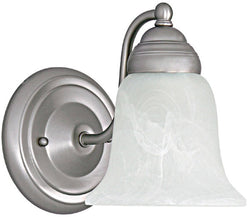 Capital Lighting Capital Sconces 1-Light Sconce Matte Nickel 1361MN117