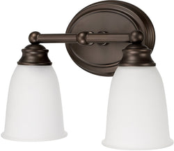 Capital Lighting Capital Vanities 2-Light Vanity Burnished Bronze 1082BB132