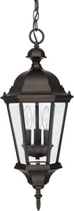 Capital Lighting Carriage House 3-Light Hanging Lantern Old Bronze 9724OB