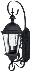"27""h Carriage House 2-Light Outdoor Fixture Black"