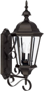 Capital Lighting Carriage House 2-Light Wall Lantern Old Bronze 9722OB