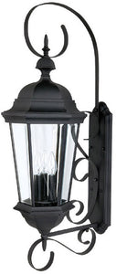 Capital Lighting Carriage House 3-Light Outdoor Fixture Black 9723BK