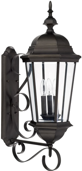 Capital Lighting Carriage House 3-Light Wall Lantern Old Bronze 9723OB