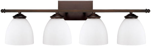 Capital Lighting Chapman 4-Light Bath Vanity Burnished Bronze 8404BB202