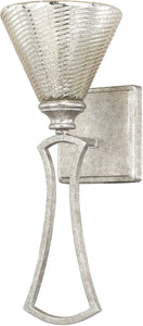 Corrigan 1-Light Sconce Antique Silver