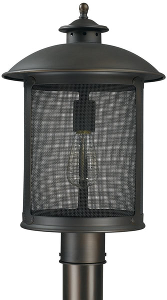 Dylan 1-Light Outdoor Post Lantern Old Bronze