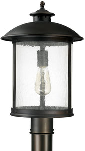 Capital Lighting Dylan 2-Light Outdoor Post Lantern Old Bronze 9565OB