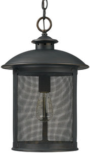 Capital Lighting Dylan 1-Light Outdoor Post Lantern Old Bronze 9614OB