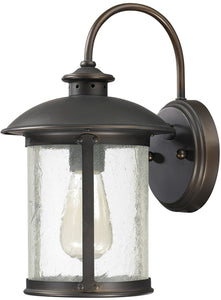 Capital Lighting Dylan 1-Light Outdoor Wall Lantern Old Bronze 9561OB