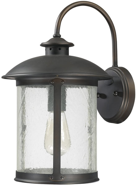 Capital Lighting Dylan 1-Light Outdoor Wall Lantern Old Bronze 9562OB