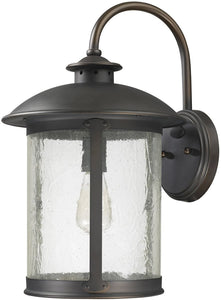 Capital Lighting Dylan 1-Light Outdoor Wall Lantern Old Bronze 9563OB