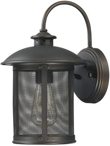 Capital Lighting Dylan 1-Light Outdoor Wall Lantern Old Bronze 9611OB