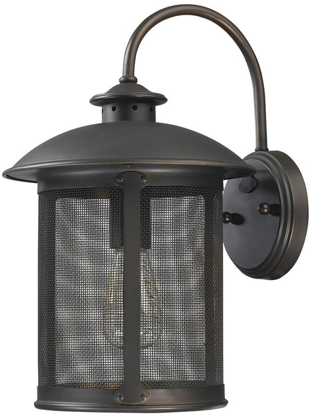 Capital Lighting Dylan 1-Light Outdoor Wall Lantern Old Bronze 9612OB