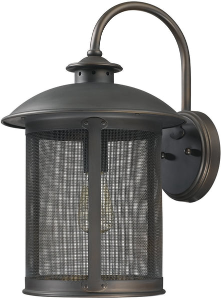 Capital Lighting Dylan 1-Light Outdoor Wall Lantern Old Bronze 9613OB