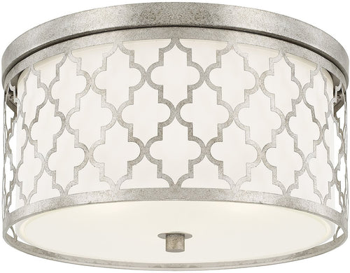 Capital Lighting Ellis 3-Lighting Ceiling Antique Silver 4549AS