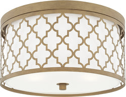 Capital Lighting Ellis 3-Lighting Ceiling Brushed Gold 4549BG