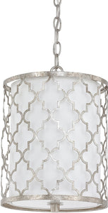 Capital Lighting Ellis 2-Light Mini-Pendant Antique Silver 4544AS579