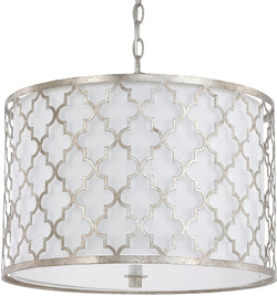 Capital Lighting Ellis 3-Light Pendant Antique Silver 4545AS582