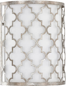 Capital Lighting Ellis 2-Light Sconce Antique Silver 4546AS566