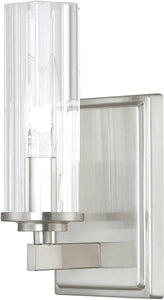 Emery 1-Light Sconce Brushed Nickel