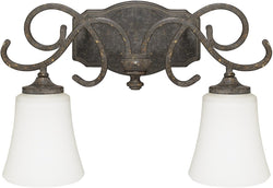 Capital Lighting Everleigh 2-Light Vanity French Greige 117721FG303