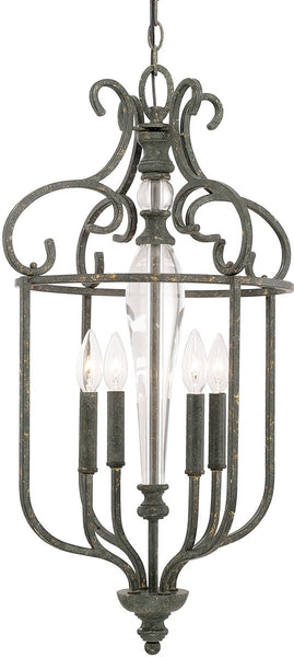 Capital Lighting Everleigh 4-Light Foyer French Greige 517741FG