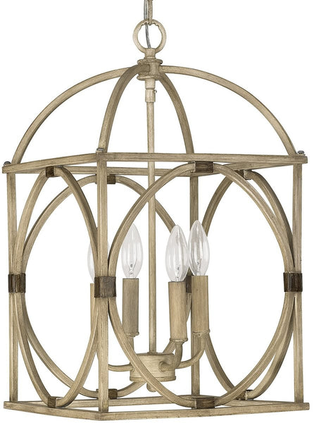 Capital Lighting Foyers 4-Light Foyer  French Oak 4521FO
